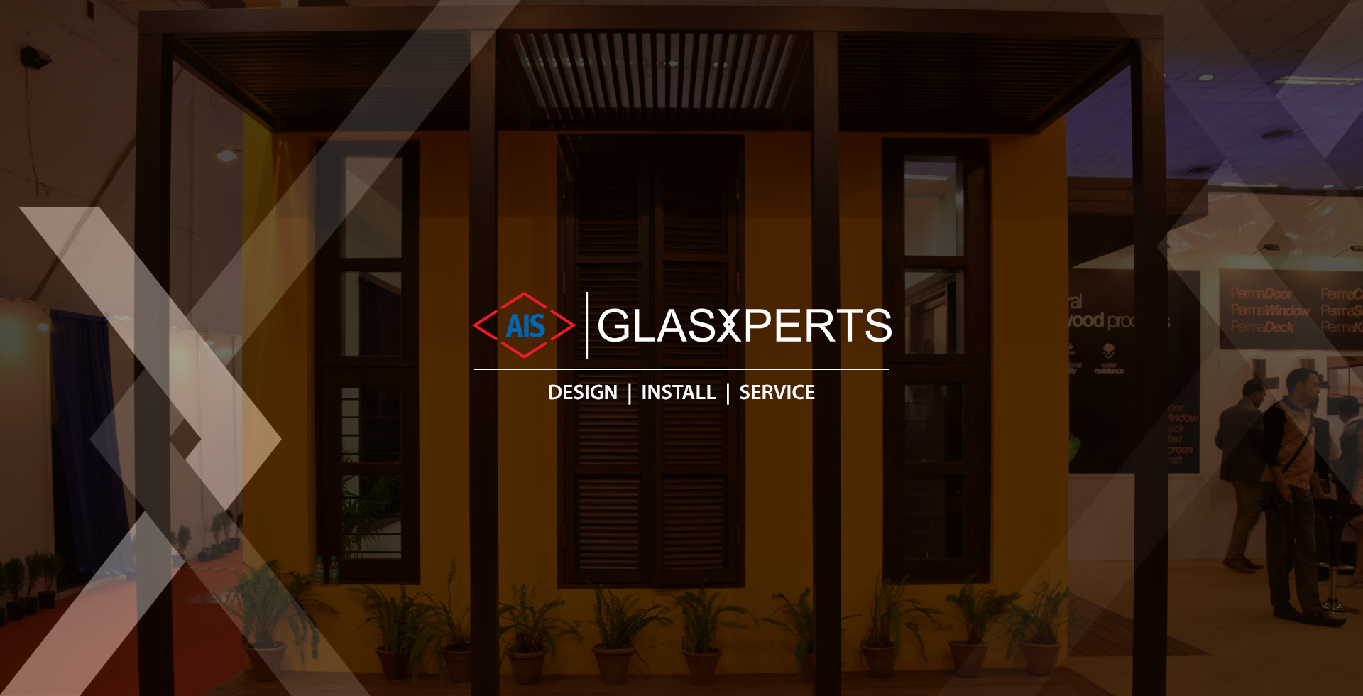Glass partitions for office- banner