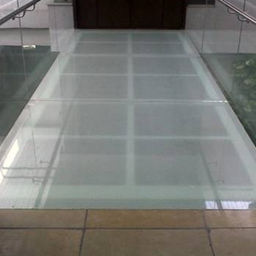 glass flooring walkway