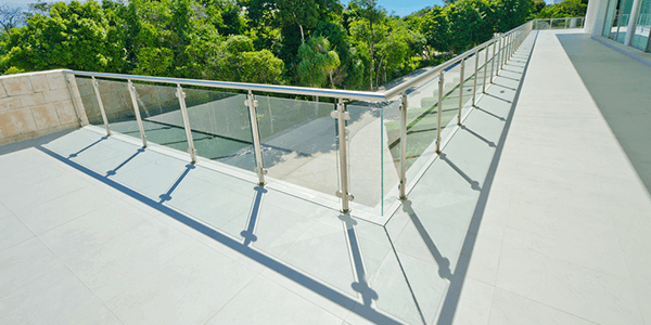 Tempered glass for railings Delhi