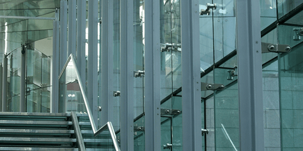 Secure laminated safety glass walls