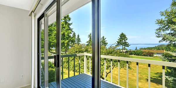 Energy efficient glass for windows and doors