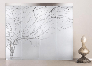 Stylish Glass partitions