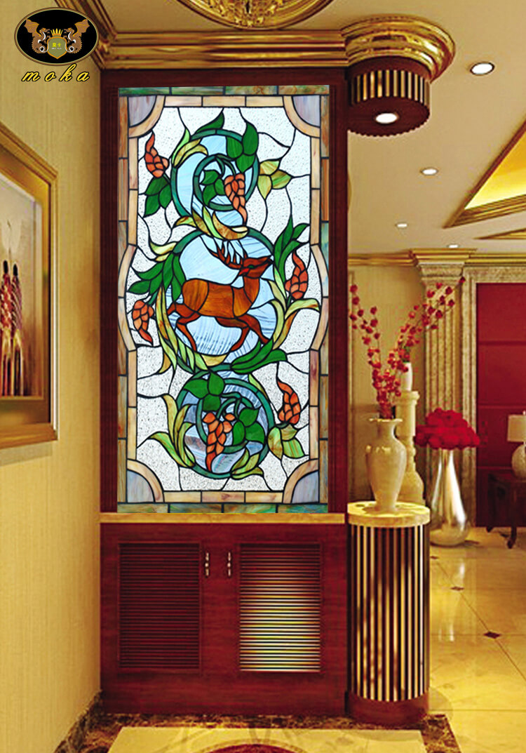 Home Office Sliding Glass Room Dividers Inspirational Gallery: Multiple Ideas In Stained Glass Designs For Office And