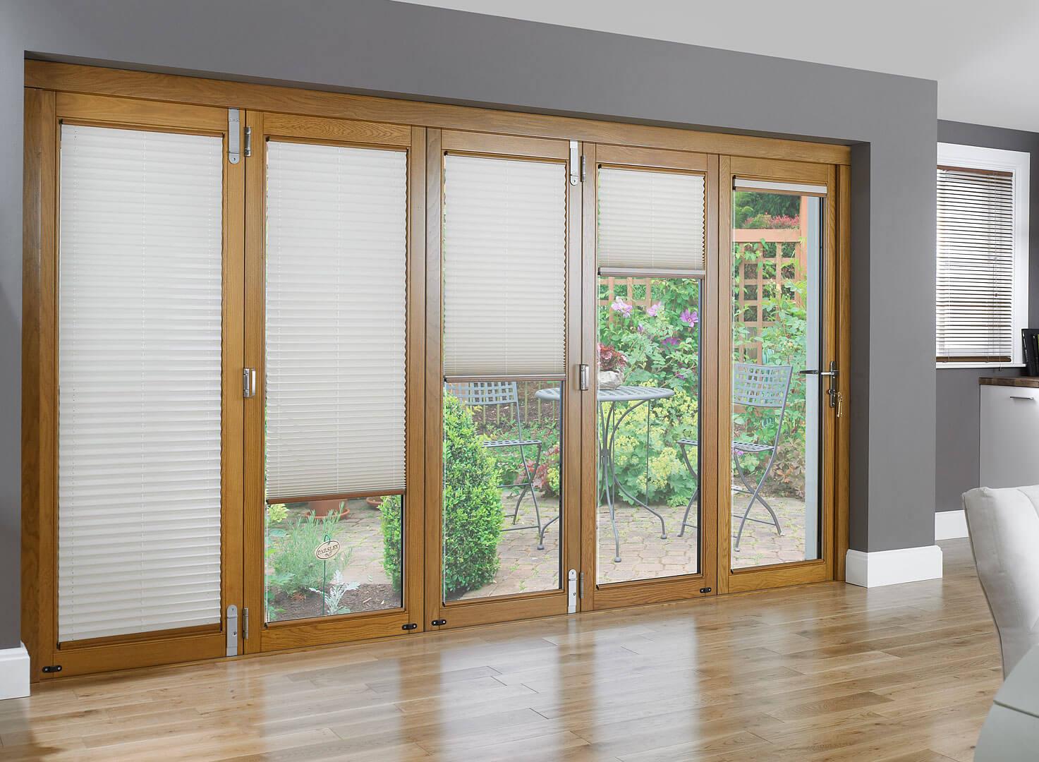 wooden glass doors and windows