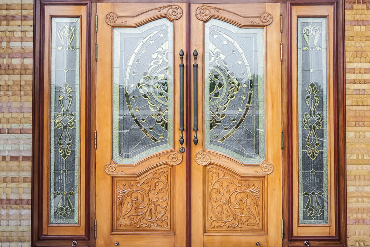 Transform Your Home with Wooden Glass Doors – AIS Glasxperts – India's leading glass lifestyle solutions Provider